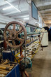 Winding yarn machinery