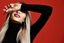 Beautiful Blonde Woman Makeup ...