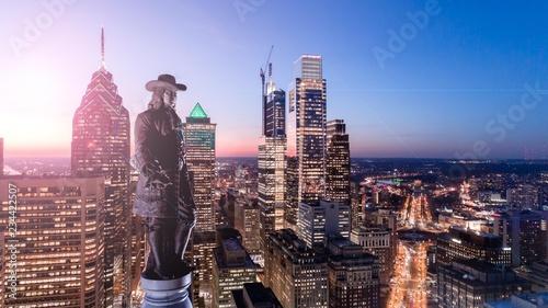 Fotomural Philadelphia Skyline