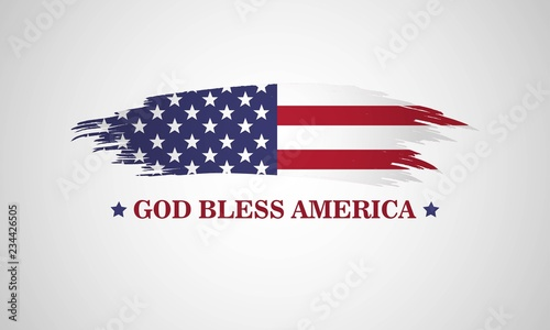 Photo God bless America