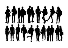 Student Activity Silhouettes, ...