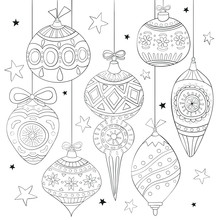 Seamless Christmas Pattern. Fe...