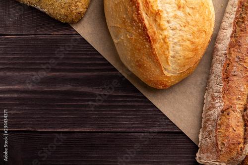 Fotografie, Obraz  Simple bread background