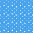 Seamless Snowflakes pattern Background for Christmas and New year. Vector Illustration EPS8