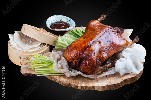 Slika na platnu Peking duck on wooden Board