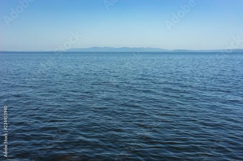 Poster Mer / Ocean Seascape with calm blue sea