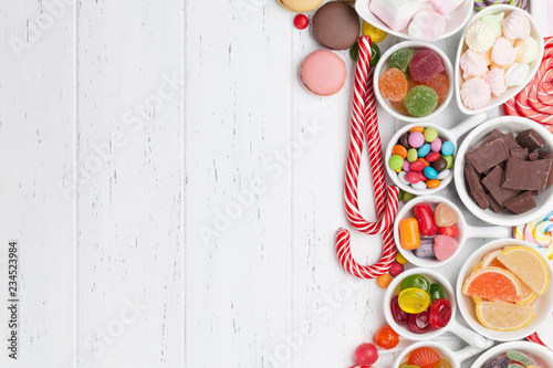 Garden Poster Candy Chocolate sweets