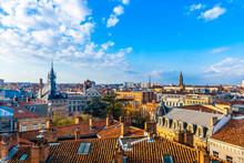 Vue Sur Les Toits De Toulouse En Haute-Garonne, Occitanie En France