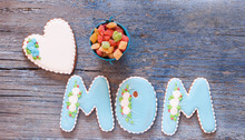 Letters Mom In The Form Of A C...