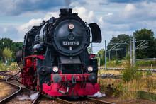 German Steam Locomotive, Big S...