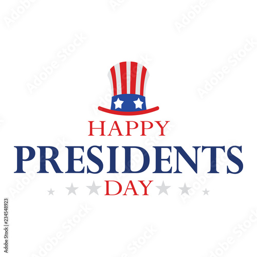 Obraz na plátně Happy Presidents day