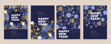 New Year And Christmas Posters...