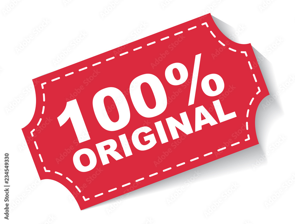 Fototapeta red vector banner 100% original