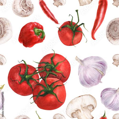 akwarela-bezszwowy-wzor-z-swiezymi-warzywami