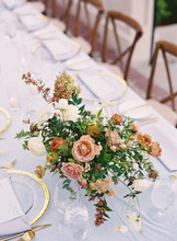 Flowers Used As A Centerpiece ...
