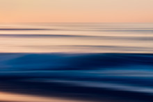 Abstract, Sunset Over The Sea