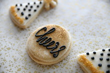 New Years Themed Cookies