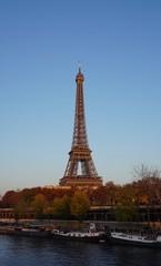 Tour Eiffel Pont Bir-Hakeim Paris