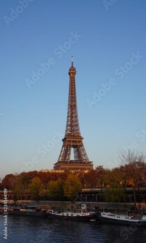 Papiers peints Paris Tour Eiffel Pont Bir-Hakeim Paris