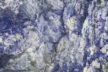 Rock Wall With Blue Tint