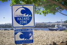 "Standard ""Tsunami Hazard Zone""..."