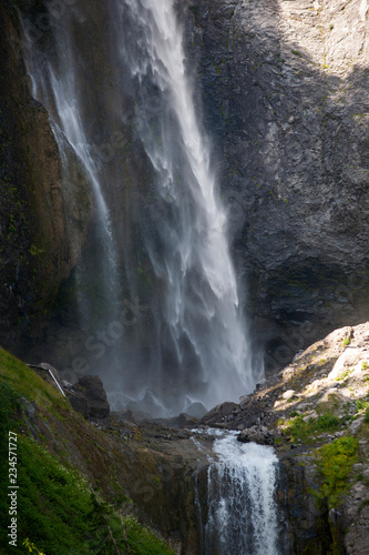 Wall Murals Waterfalls waterfall in forest