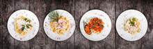 Set Of Pasta From Worldwide Cu...