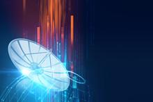 3d Illustration Of Satellite D...