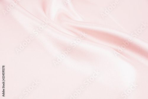 Keuken foto achterwand Stof The texture of the satin fabric of pink color for the background