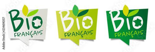 Bio français Canvas Print