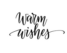 Warm Wishes Vector Christmas S...