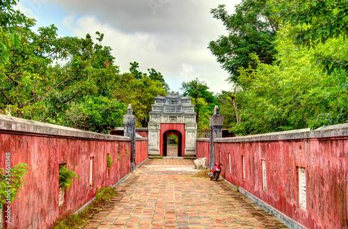 Hue citadel, Vietnam Canvas Print