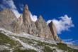 Paesaggio dolomitico in Trentino Alto-Adige