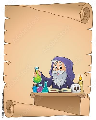 Alchemist topic parchment 1