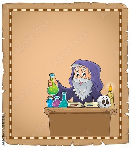 Alchemist topic parchment 2