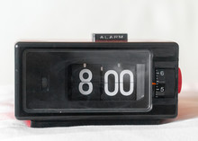 Vintage Retro Alarm Clock In T...