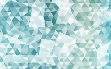 Abstract Color Triangles Mosaic Background. Vector Illustration. For Design, Presentation