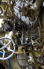 Inside The Submarine.
