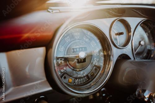 In de dag Vintage cars Oldtimer