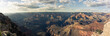 Panoramic view of the great canyon of colorado