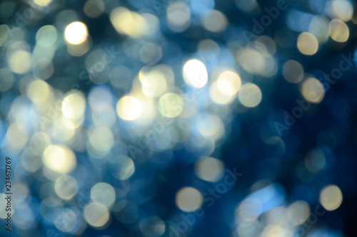 Fototapety, obrazy: Bokeh photo. Holiday background. Christmas lights. background. Defocused sparkles. New Year backdrop. Festive wallpaper. Blinks. Carnival. Retro style photo.