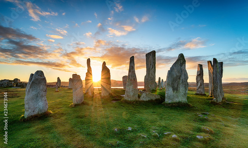 The Callanish Stones Fototapet