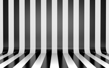 Black And White Vertical Lines...