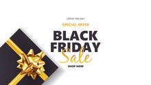 Black Friday Sale Background W...