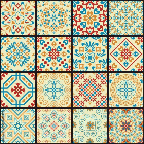 Photo Seamless patterns set