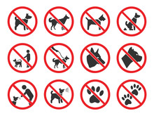 No Dogs Sign, Dog Prohibition ...