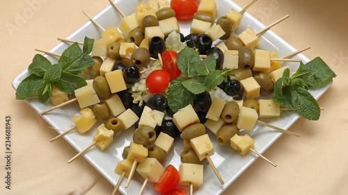Cheese Skewers Platter