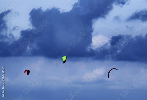 Photo Kitesurfing on the sea of Albenga