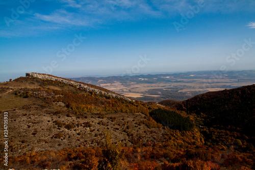 Foto op Aluminium Chocoladebruin mountain landscape