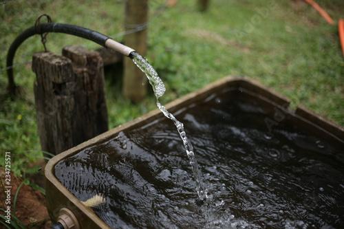 Fotobehang Fontaine Fresh water
